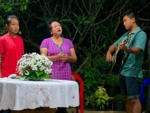 Worship at Tabitha Home
