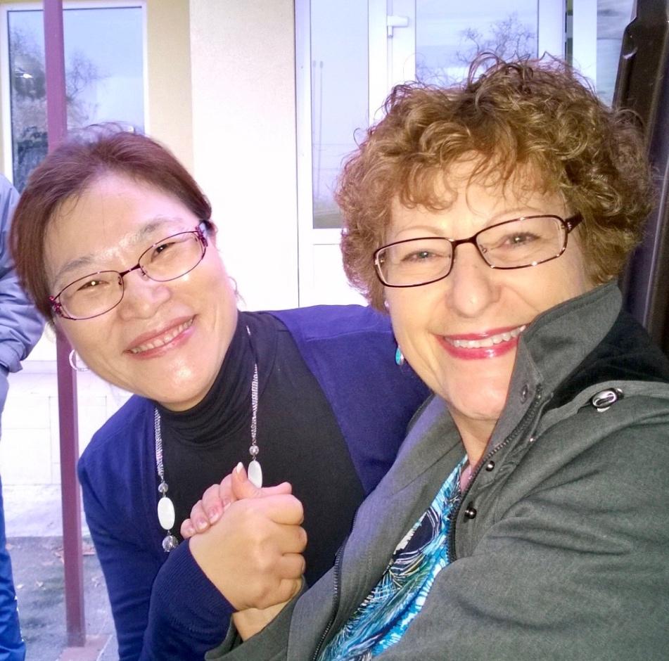 Jungshin and Vicki