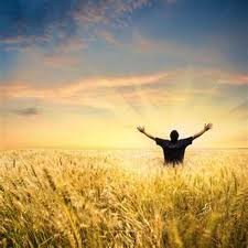 woship in a wheat field