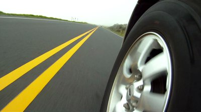 tire and road kept in spiritual balance