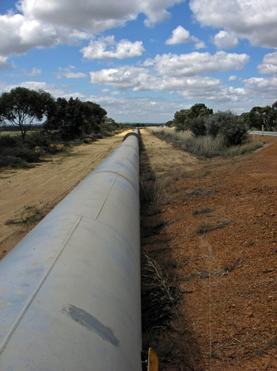 A pipeline is a metaphor for serving