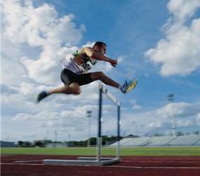 hurdle and hurdler